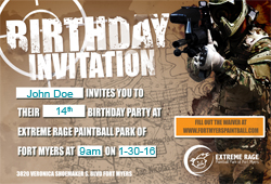 Birthday Invitation #1